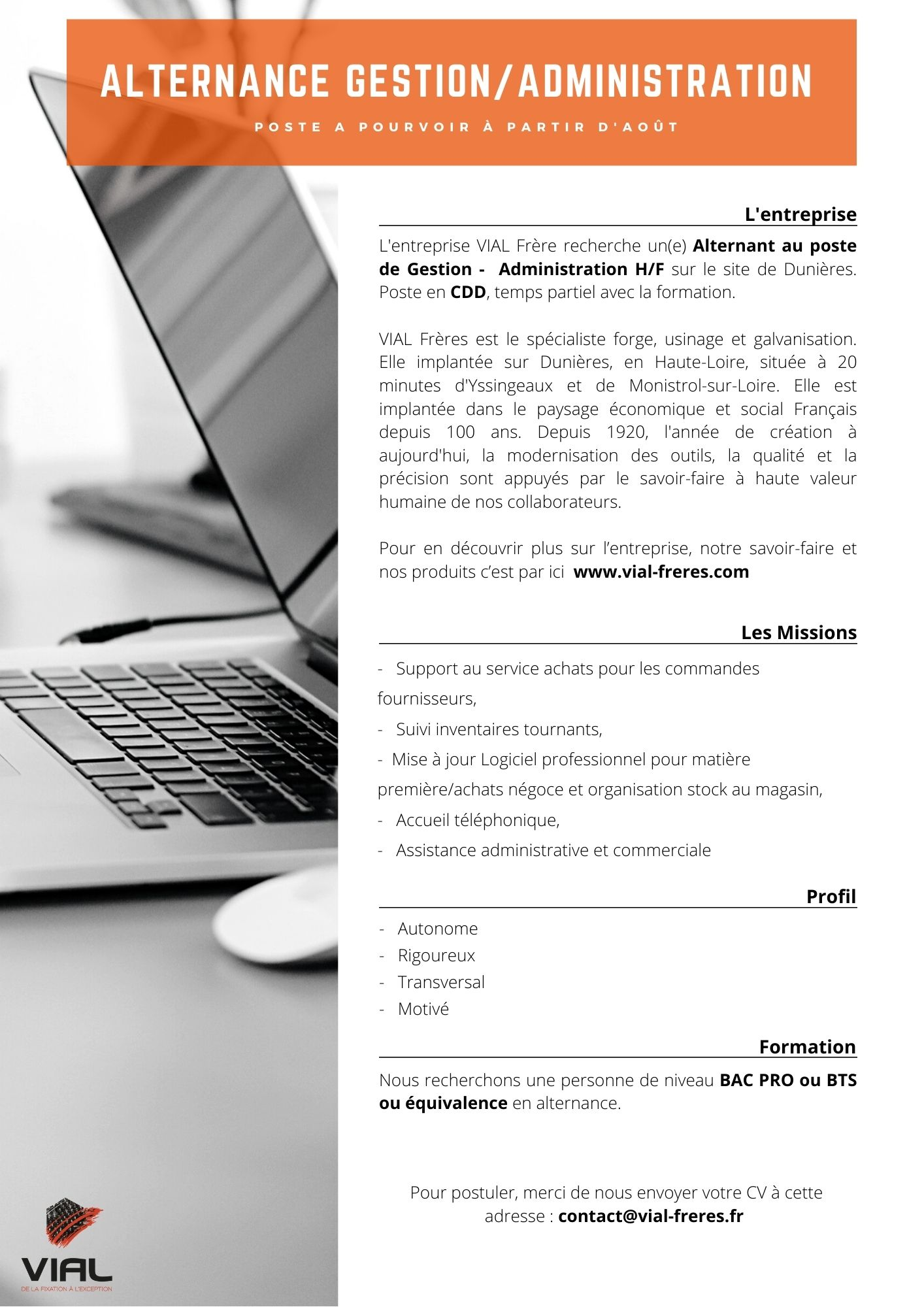 offre-demploi-VIAL-alternance-gestion-administration